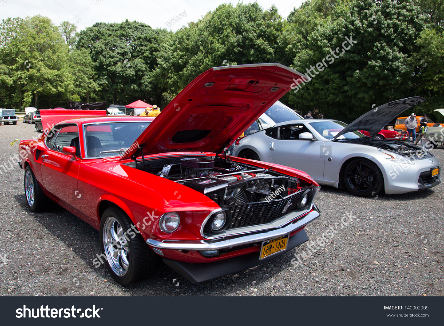 OYSTER BAY NY MAY Classic Ford Mustang On Display At New York - New york autofest car show