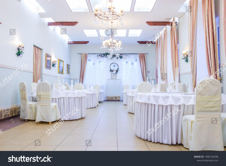 Christmas Decoration Hall Restaurant Holiday Restaurant Stock Photo Edit Now 1400106398