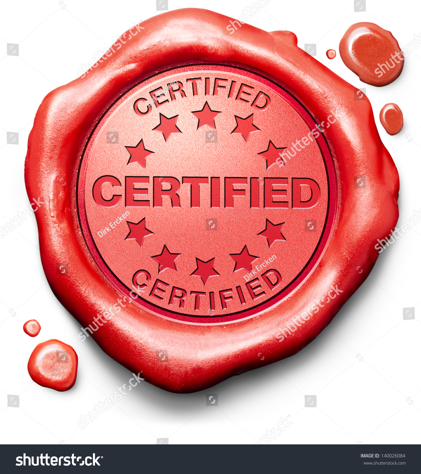 certified professional qualified pro red stamp stock illustration