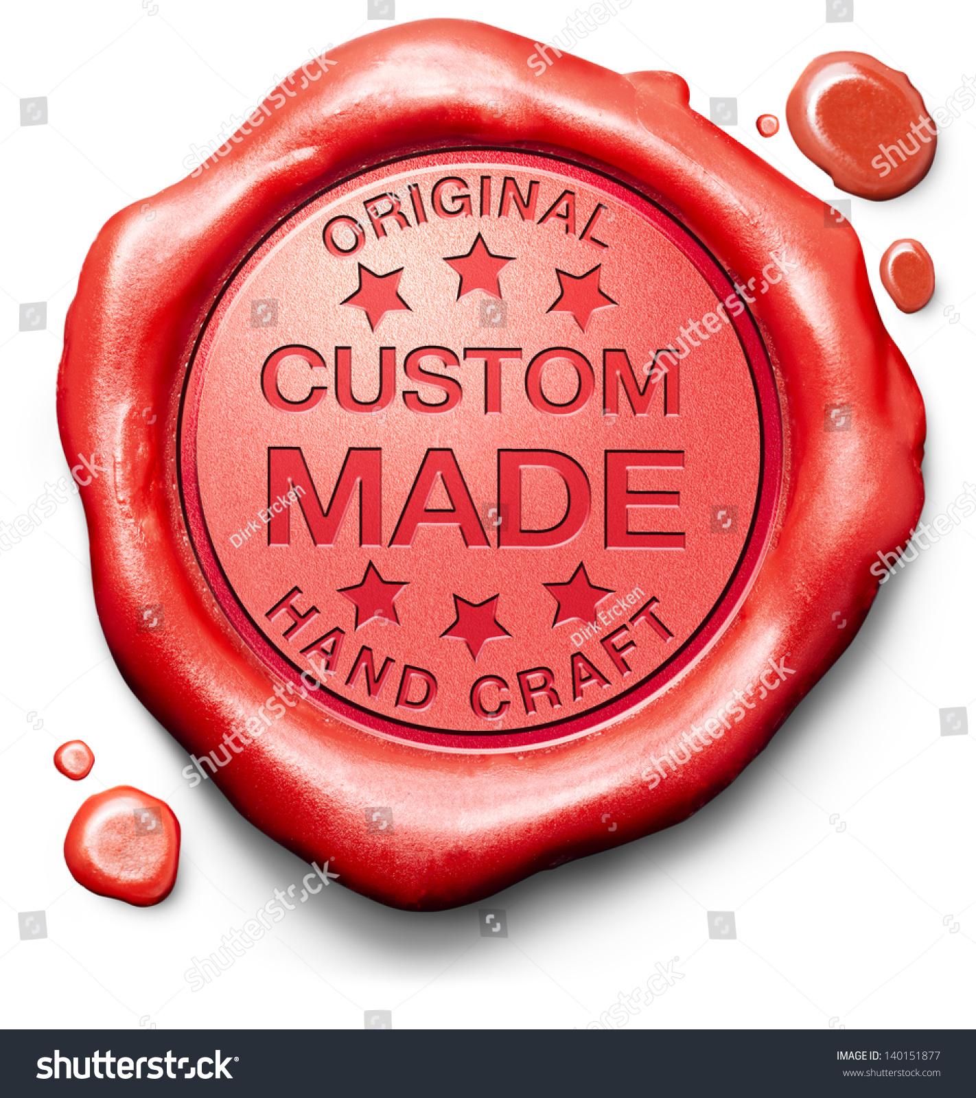 Custom made customized handcraft hand crafted stock for Handcrafted or hand crafted