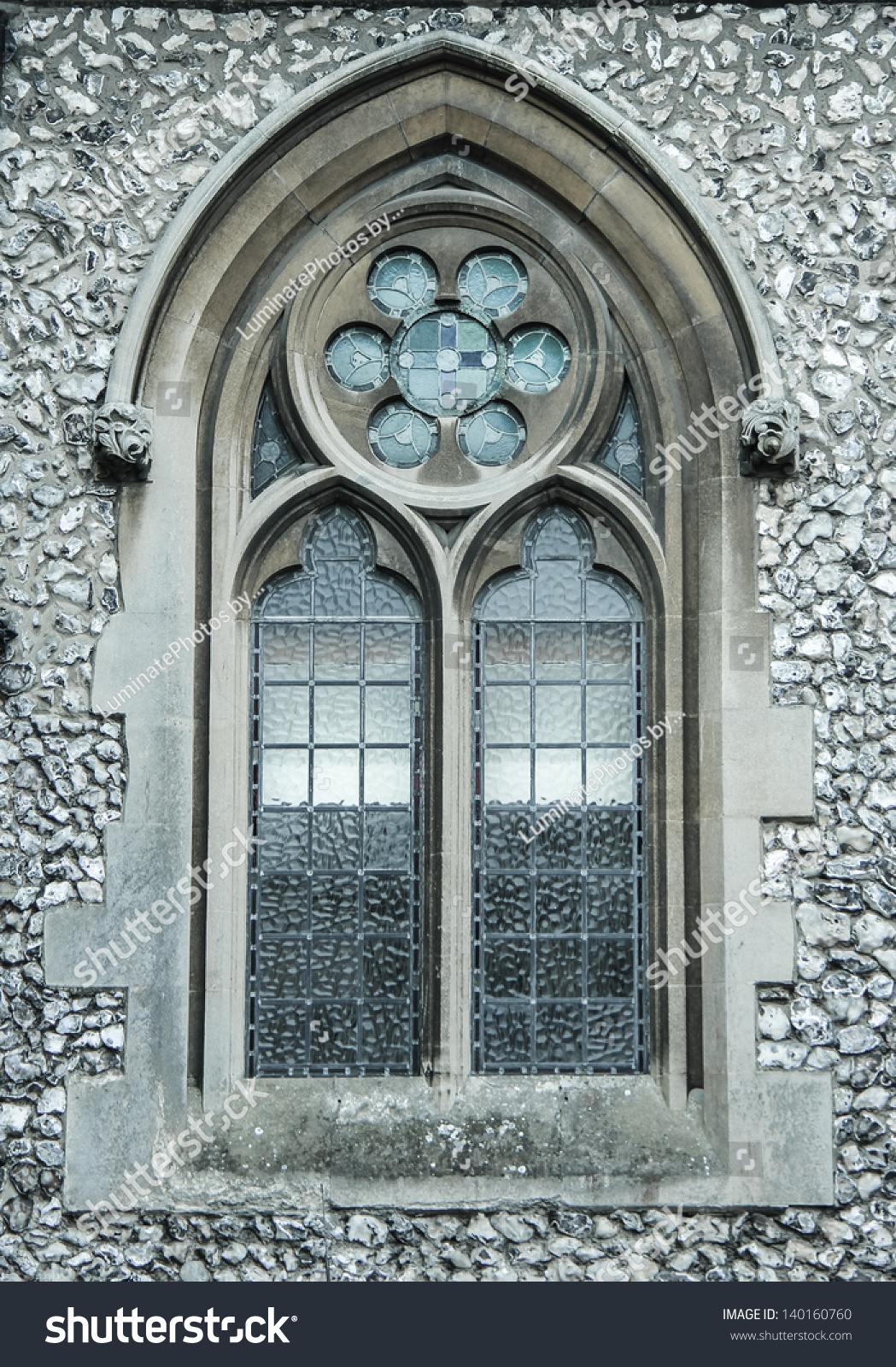 Medieval Church Window Stock Photo 140160760 Shutterstock