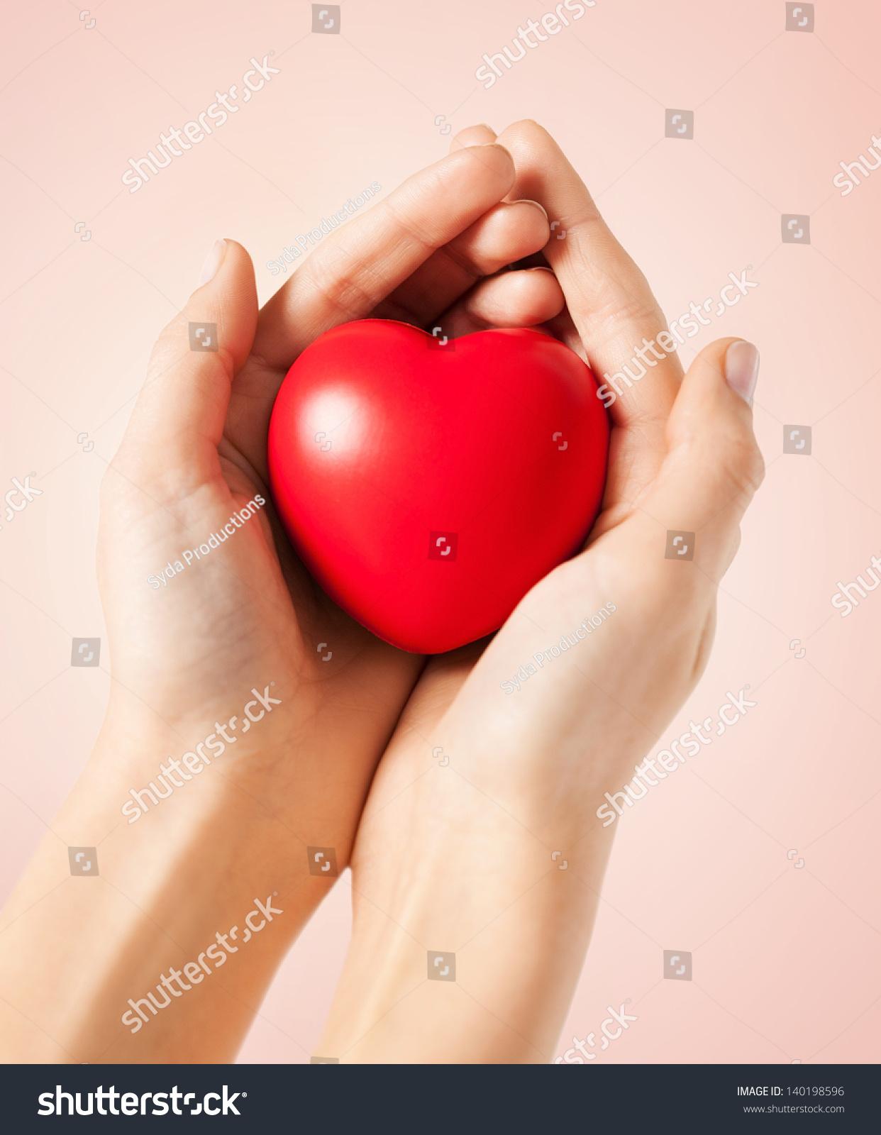 Close Woman Hands Heart Stock Photo 140198596 - Shutterstock