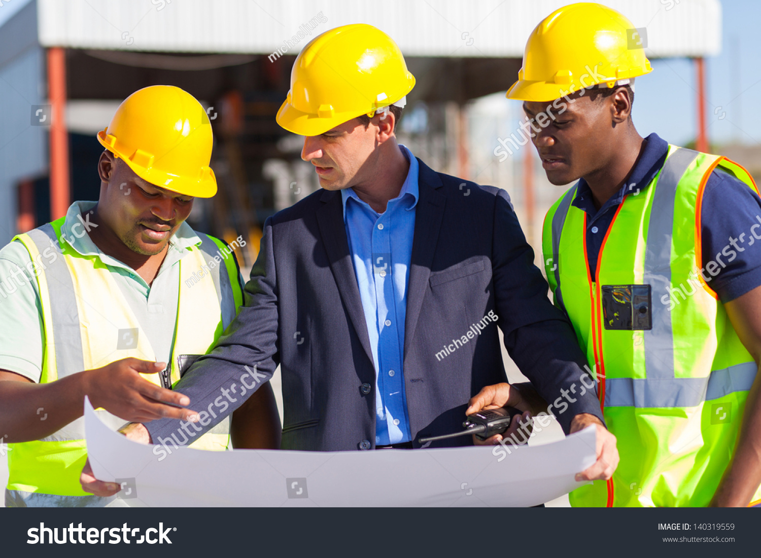 group male architect construction workers on stock photo 140319559
