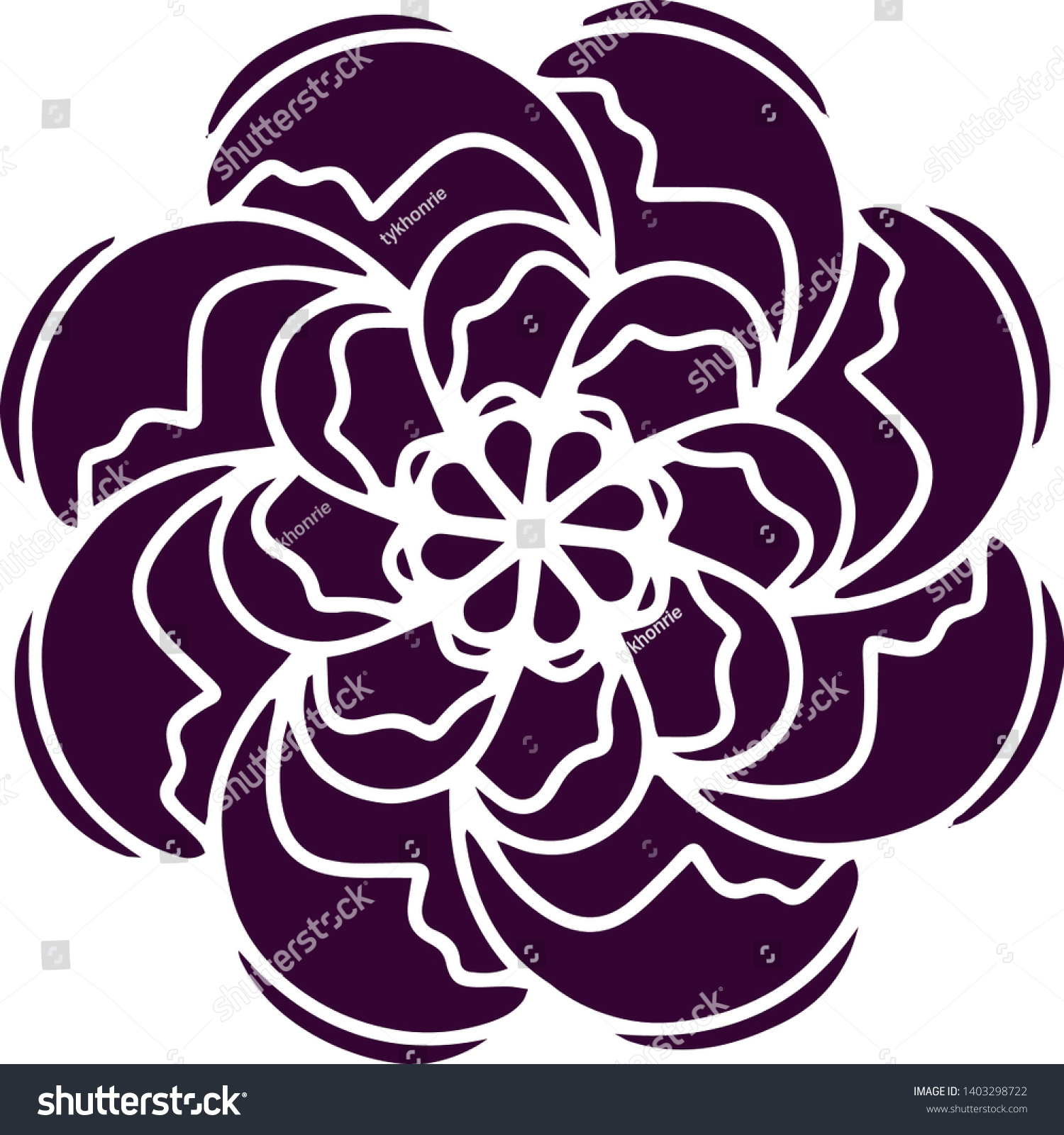 stock-vector-indian-rose-flower-icon-org