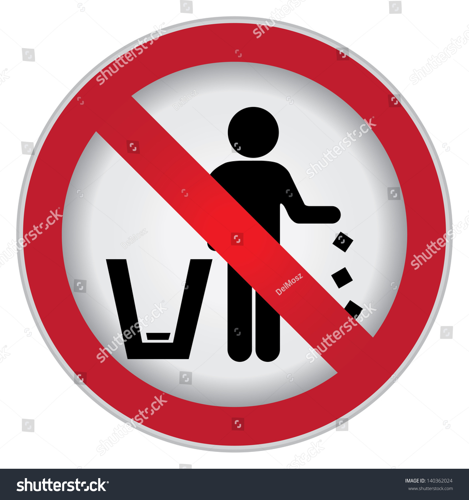 Royalty Free Stock Illustration Of Circle Prohibited Sign No
