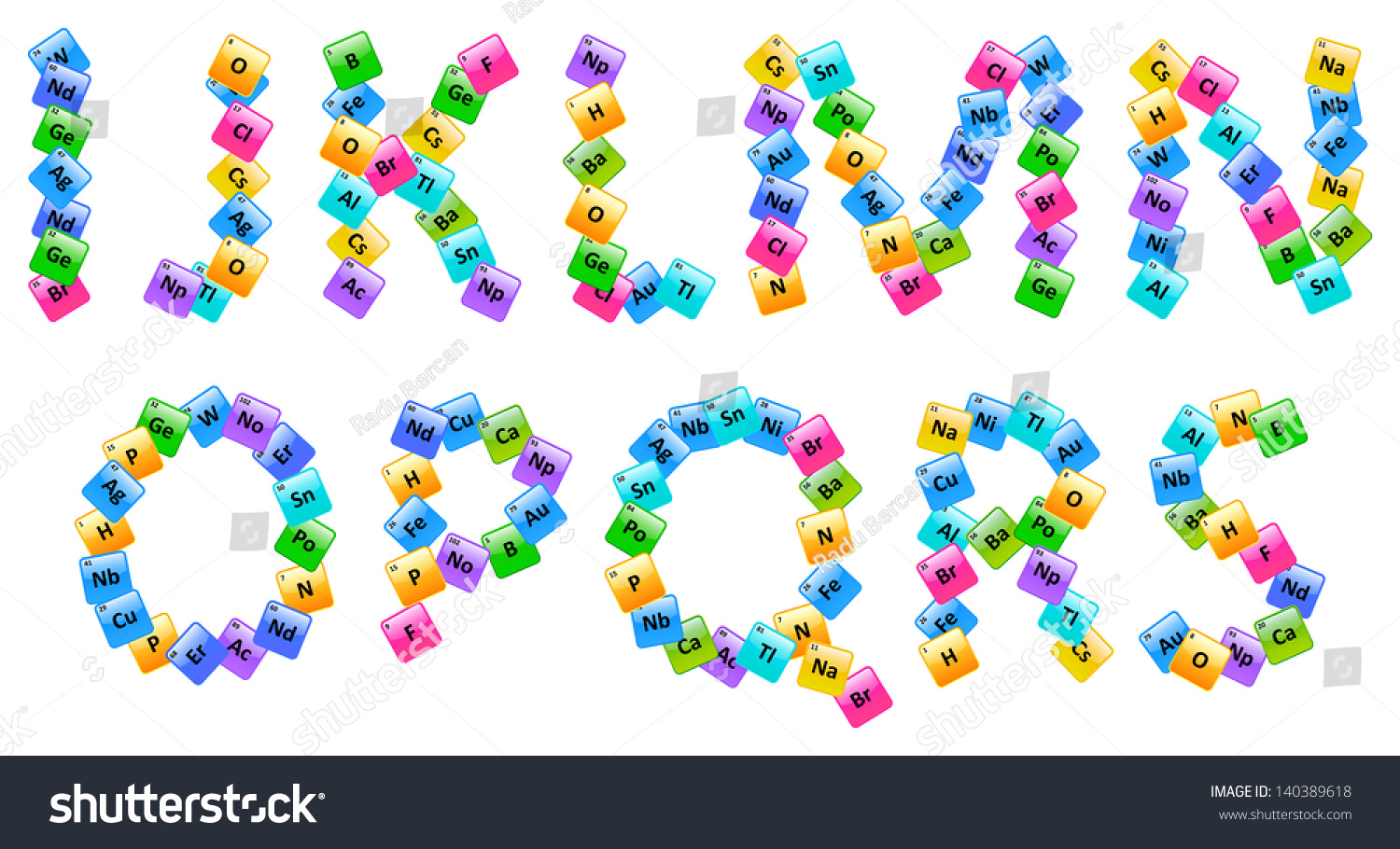 Periodic table elements alphabet letters is stock vector 140389618 periodic table of elements alphabet letters i s gamestrikefo Choice Image