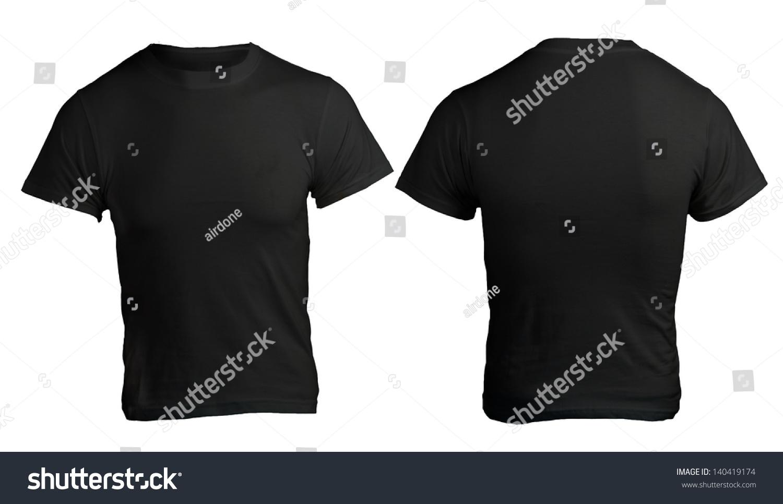 Black t shirt front and back plain - Black T Shirt Front And Back Plain Black T Shirt Template Front And Back Black