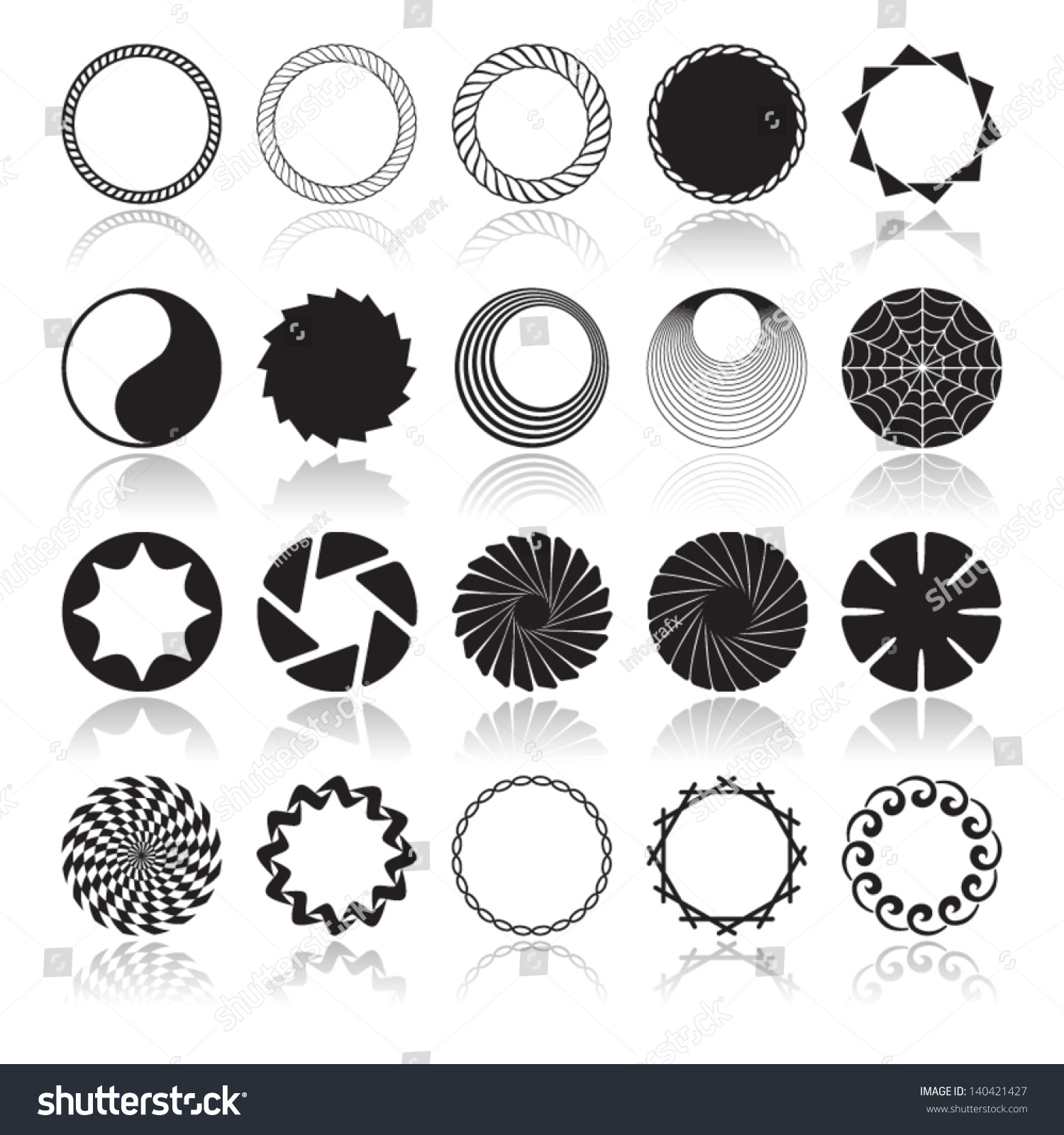 abstract design circle sector - photo #39