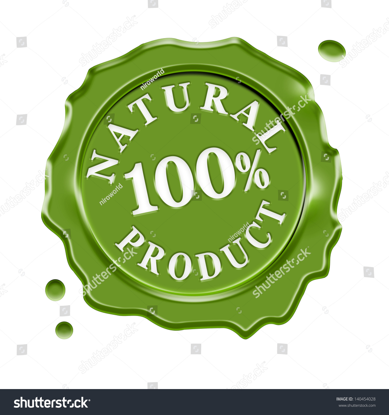 Green wax seal central text 100 stock illustration 140454028 green wax seal with central text 100 percent natural product guarantee symbol for organic and buycottarizona Image collections