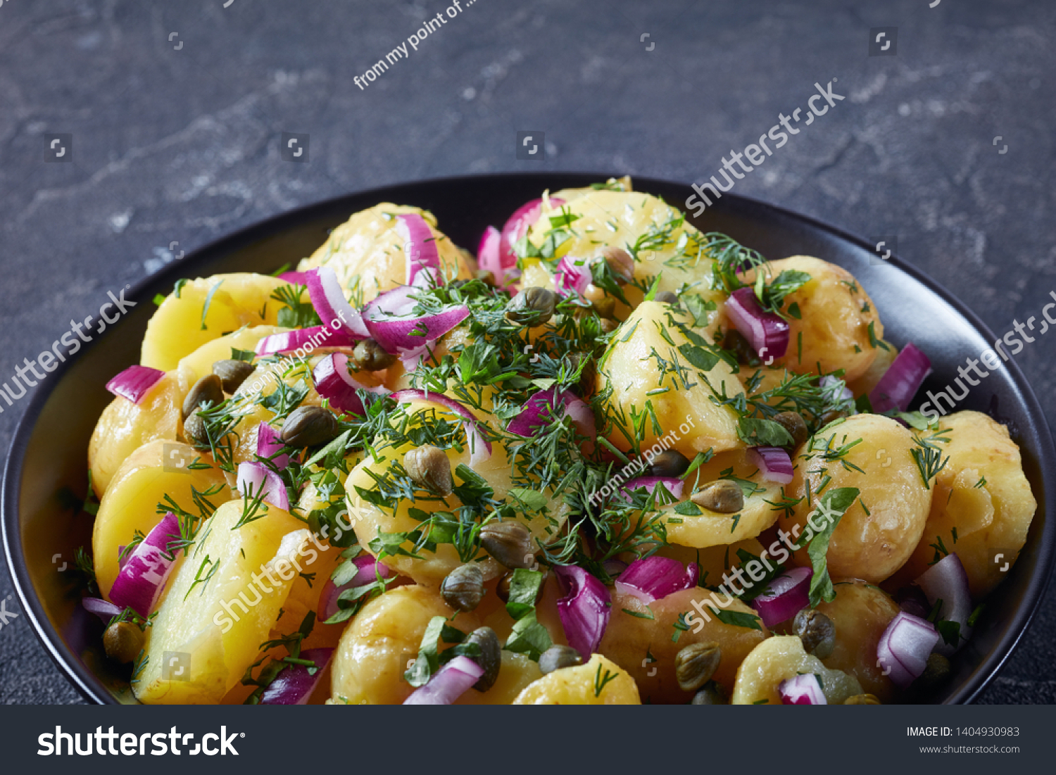 Potato Salad Dressing With Capers