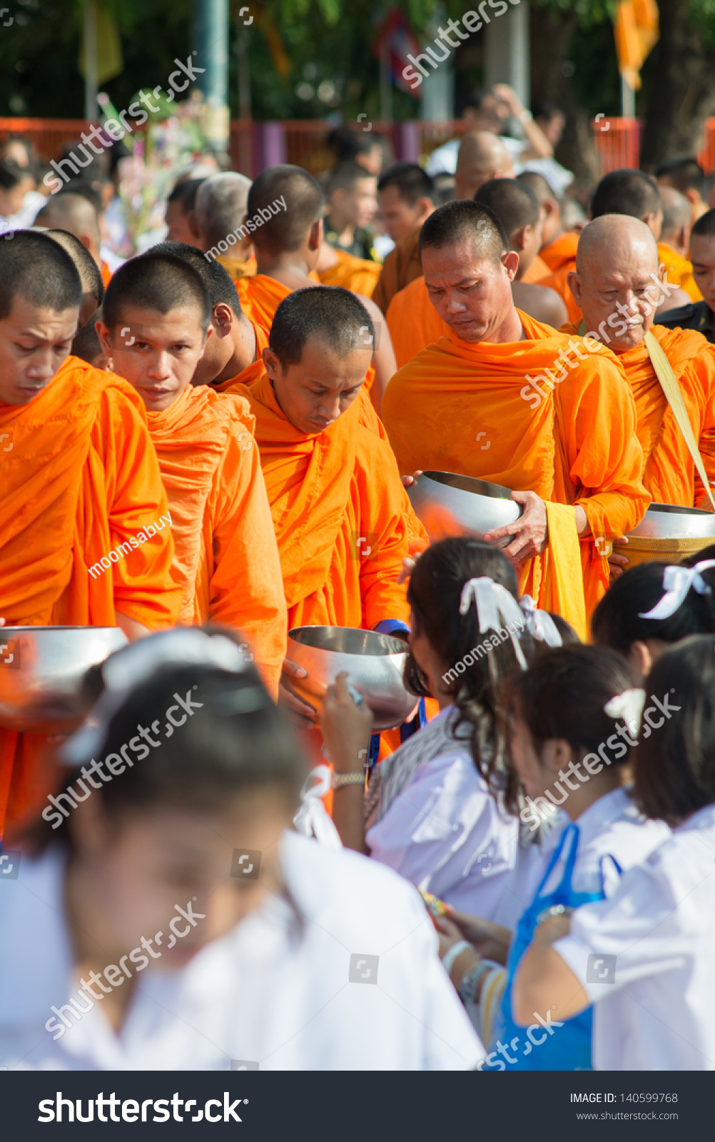 Uttaradit Thailand  City pictures : ... Buddhist monks on May 23, 2013 in Uttaradit, Thailand. Thai tradition