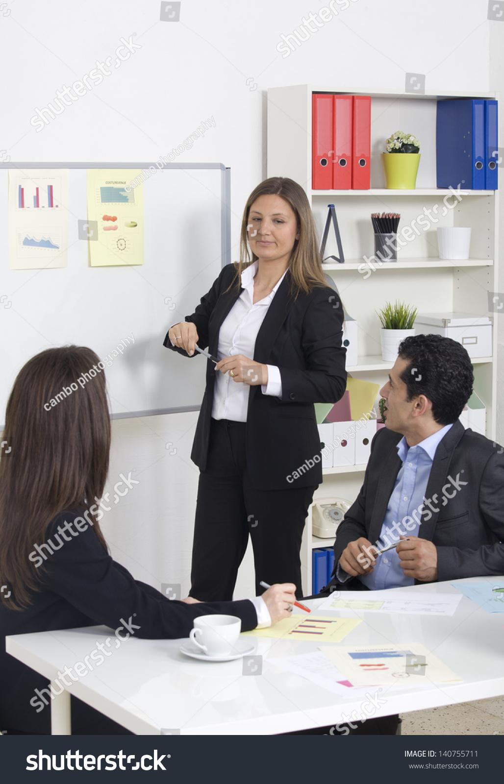 group business presentation