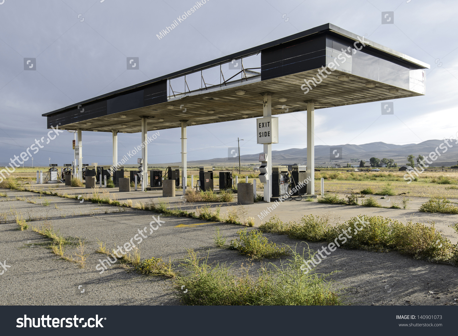Abandoned Gas Station Utah Stock Photo Edit Now 140901073