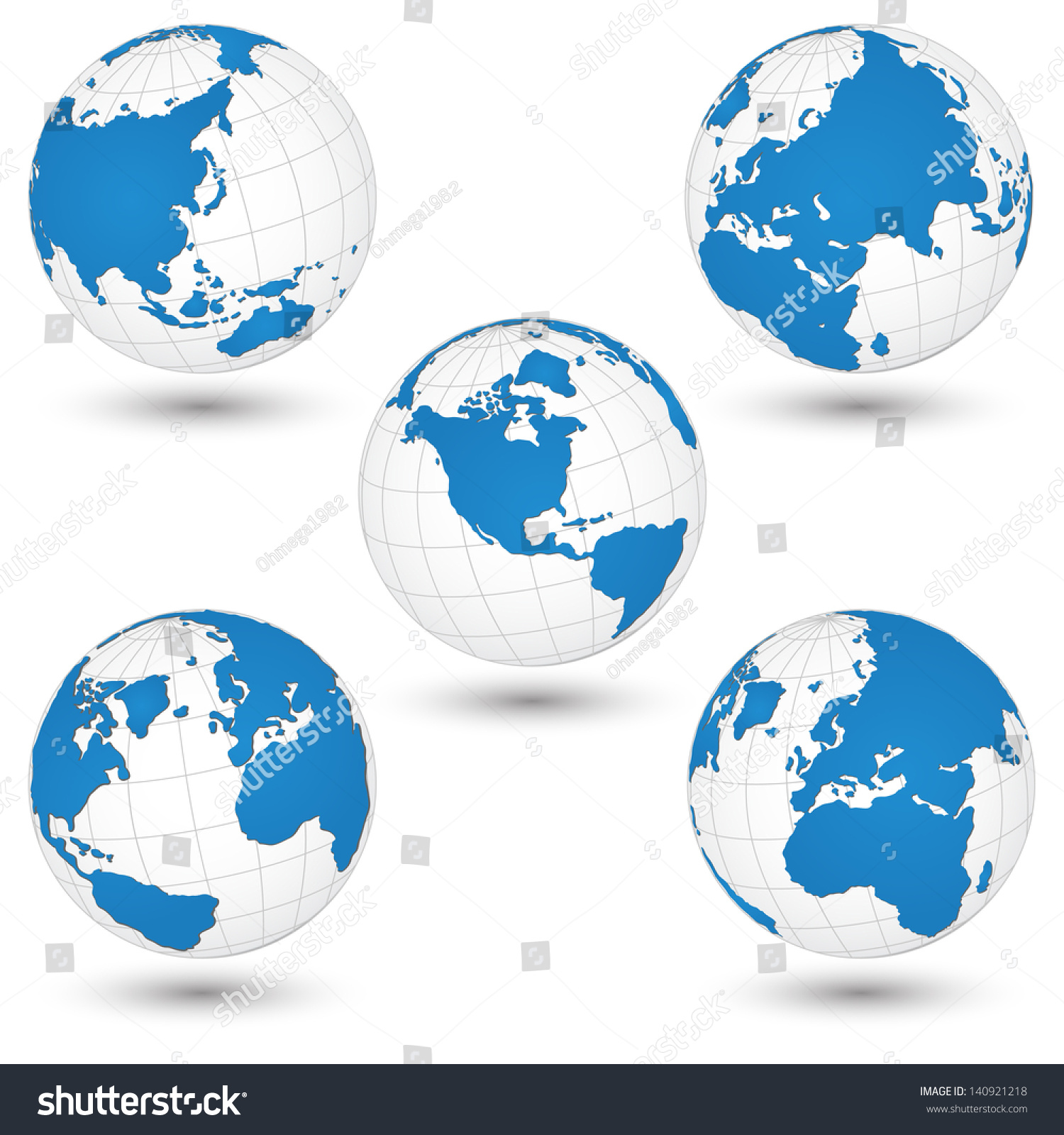 World map globe detail vector illustration stock vector hd royalty world map and globe detail vector illustration eps 10 gumiabroncs Gallery