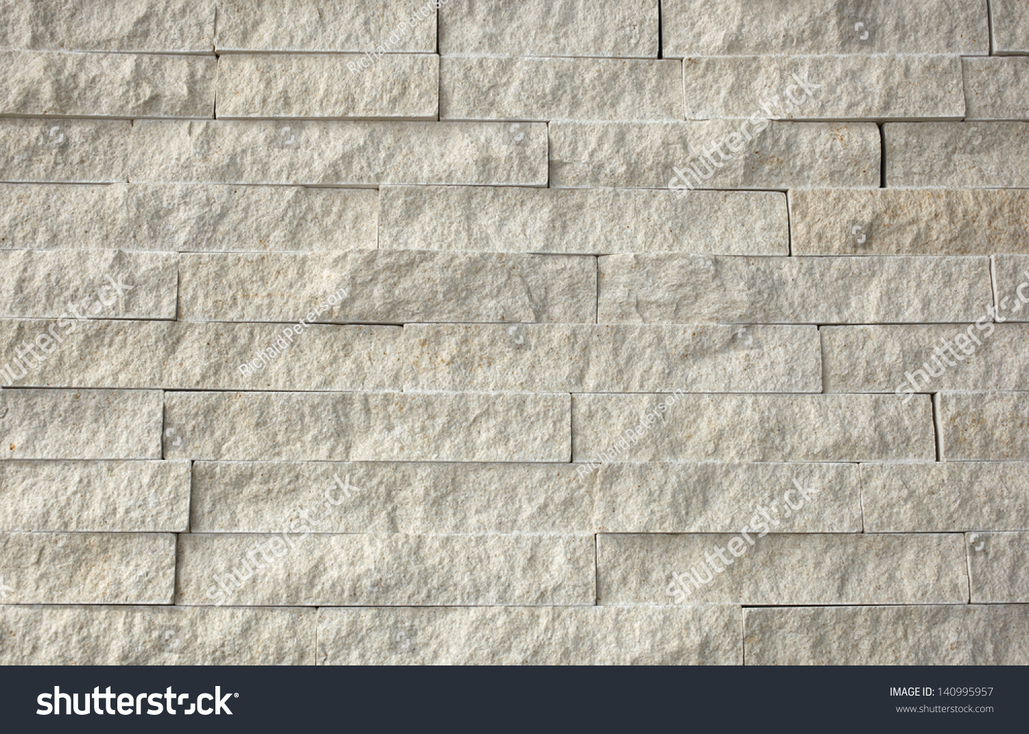 Natural Stone Granite Pieces Tiles Walls Stock Photo 140995957 ...