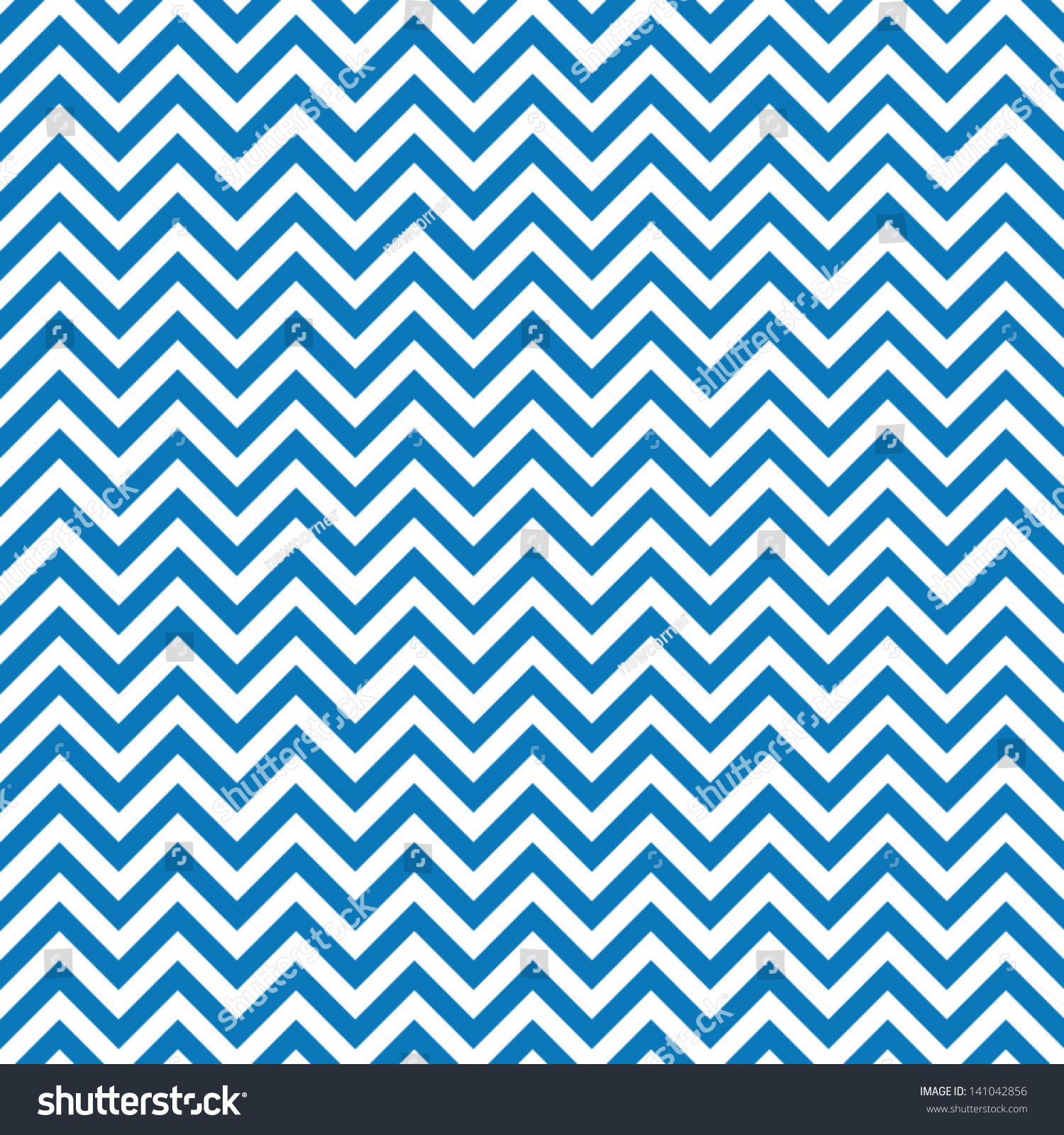Blue Chevrons Seamless Pattern Background Retro Stock ...