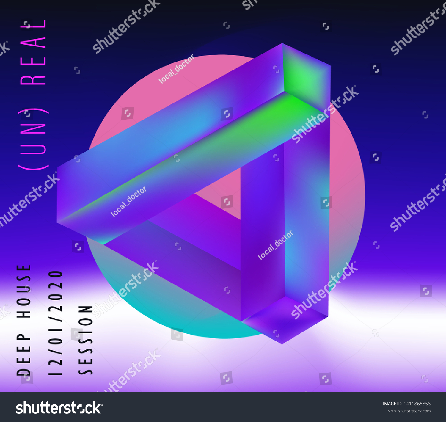 23+ Vaporwave Neon Triangle Images