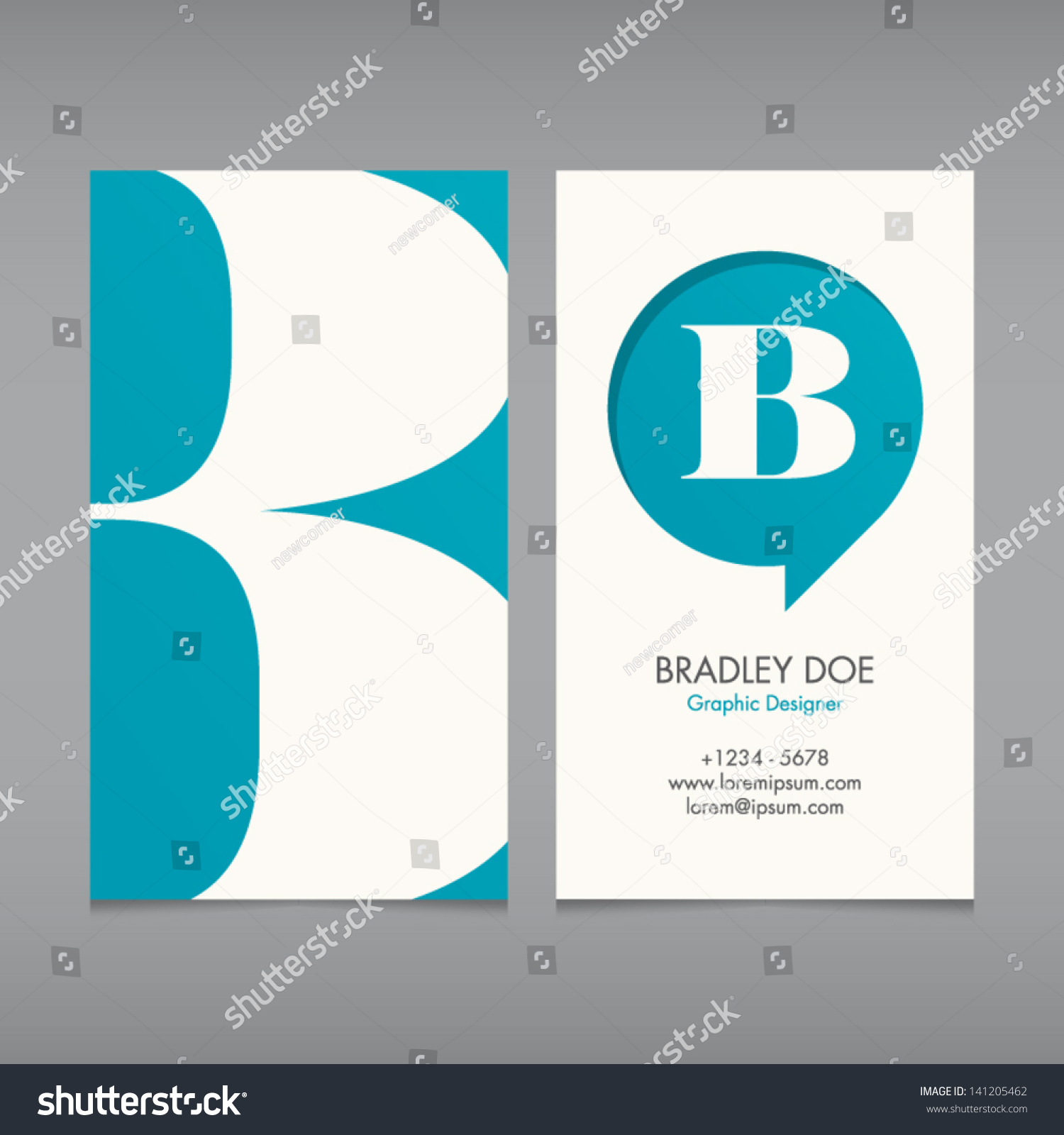 business card vector template alphabet letter stock vector business card vector template alphabet letter text color editable font type