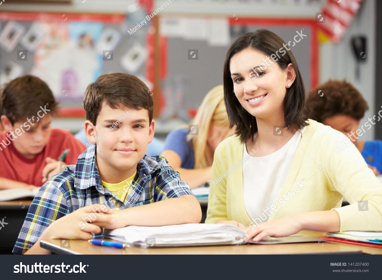 С учителем перед учениками 20 фотография