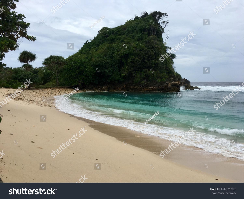 May 29 2017 Pantai Goa Cina Nature Stock Image 1412098949