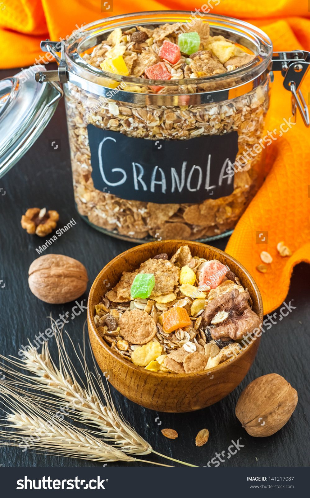 how to make healthy muesli cereal