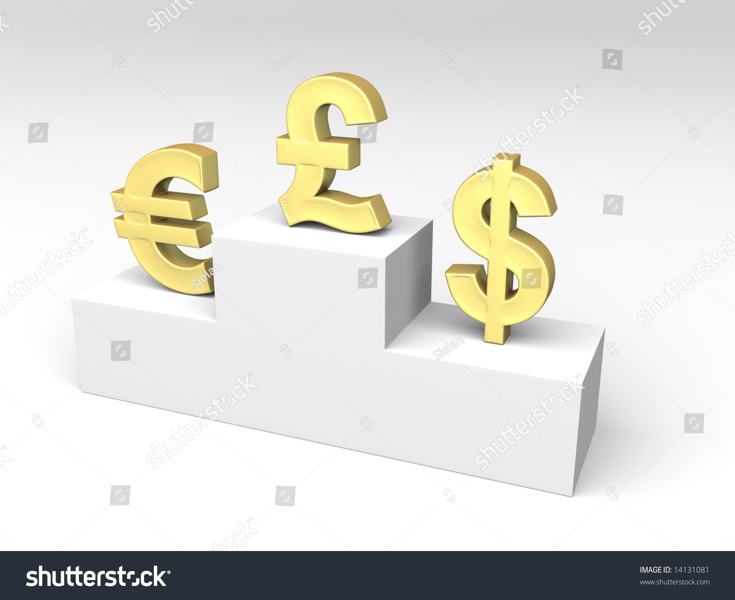 Currencies Exchange Rates Shown By Some Stock Illustration 14131081