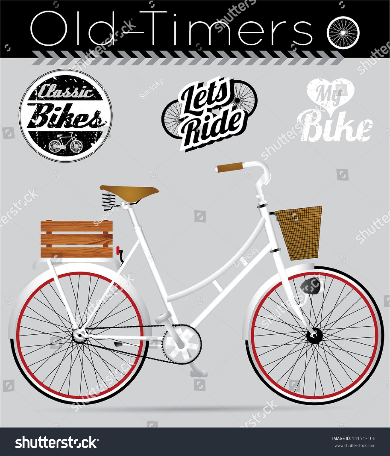 Vintage Bicycle Stickers 37