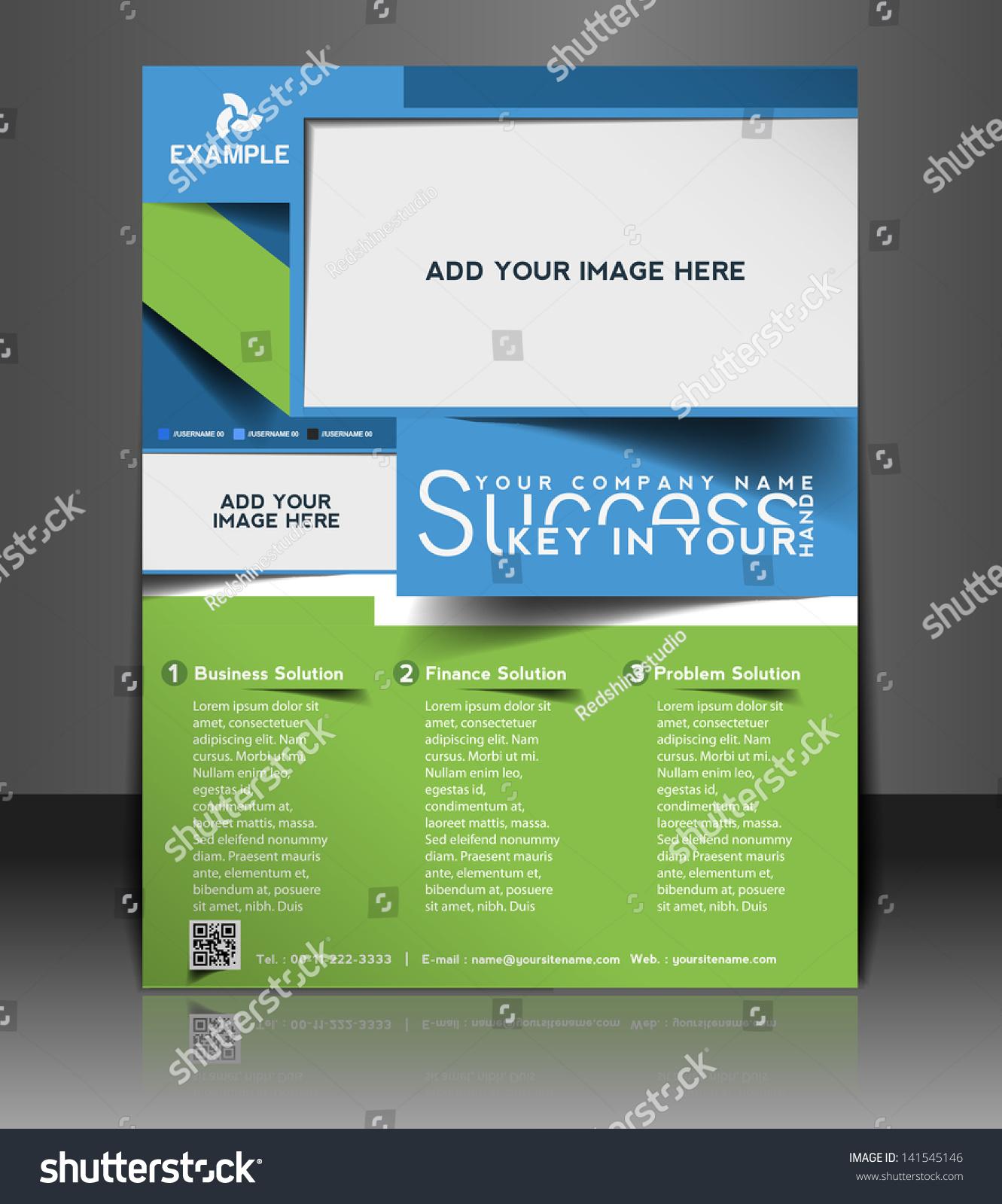 Vector Brochure Flyer Magazine: Vector Business Brochure Flyer Magazine Cover Vectores En