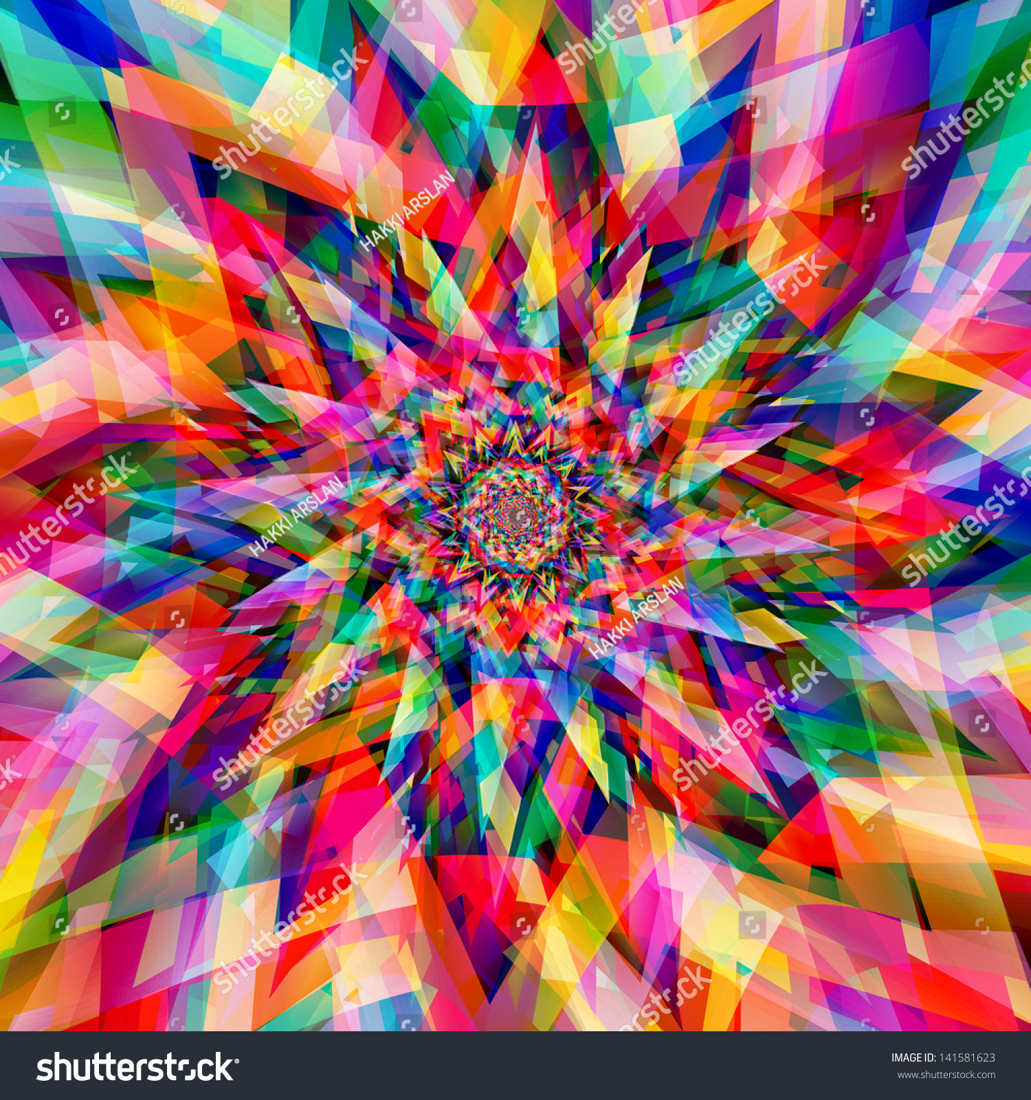 Abstract Colorful Background Stock Illustration 141581623