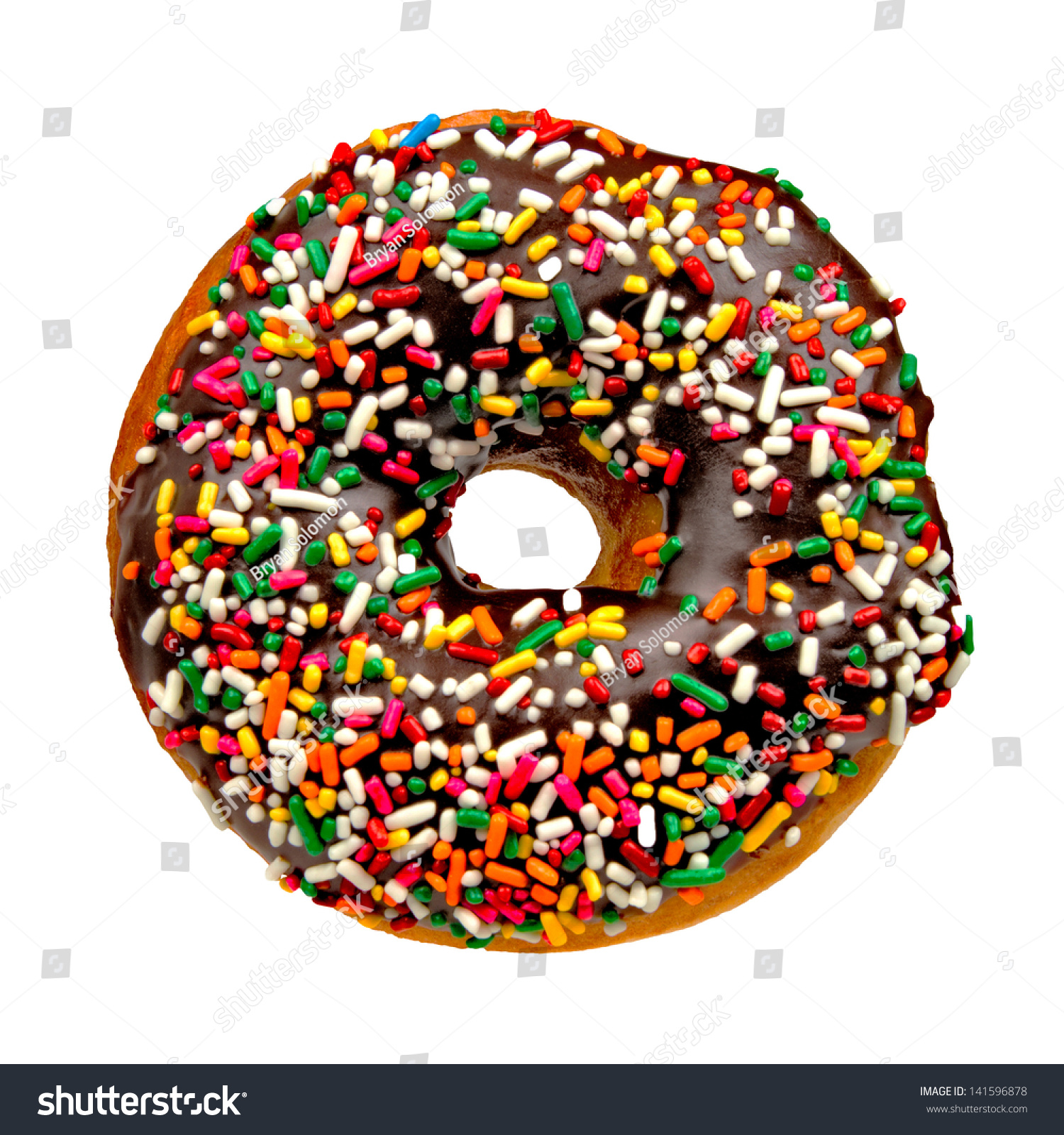 Calories In A Cake Donut With Chocolate Frosting And Sprinkles