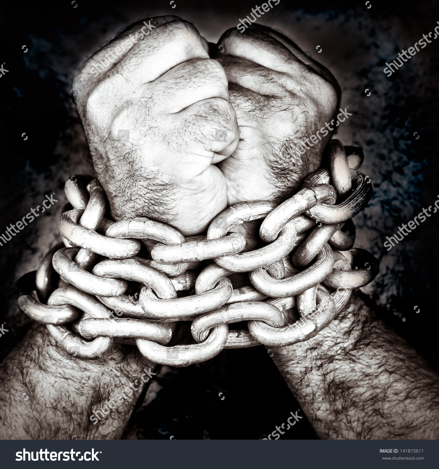 Black And White Pictures Of People In Chains Pictures to ...