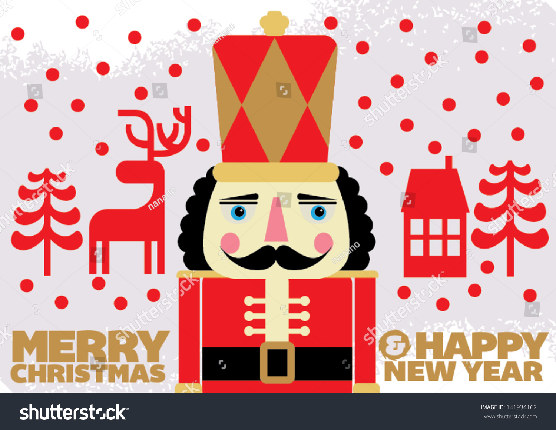 Nutcracker Soldier Christmas Cards   www.topsimages.com