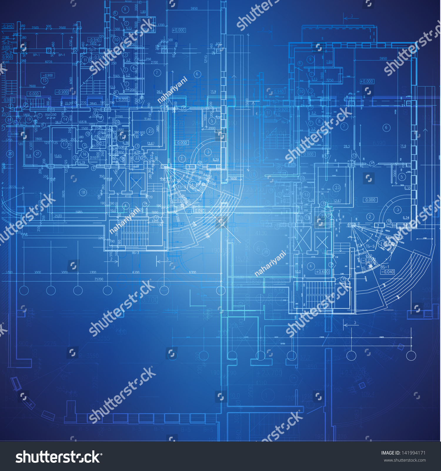 Urban blueprint vector architectural background part stock for Architecture blueprint