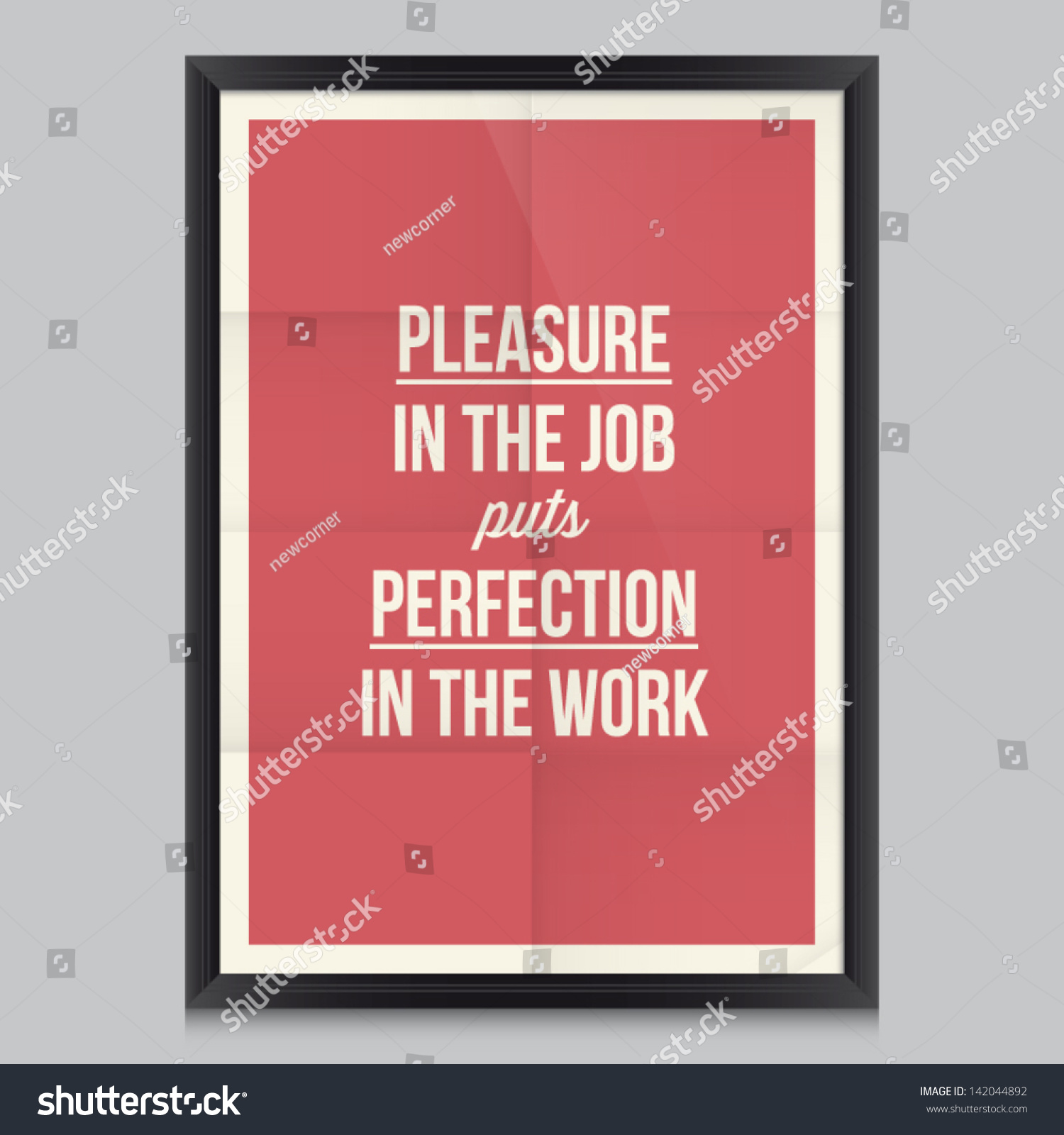 Work Quote Poster By Aristotle Effects Poster Frame