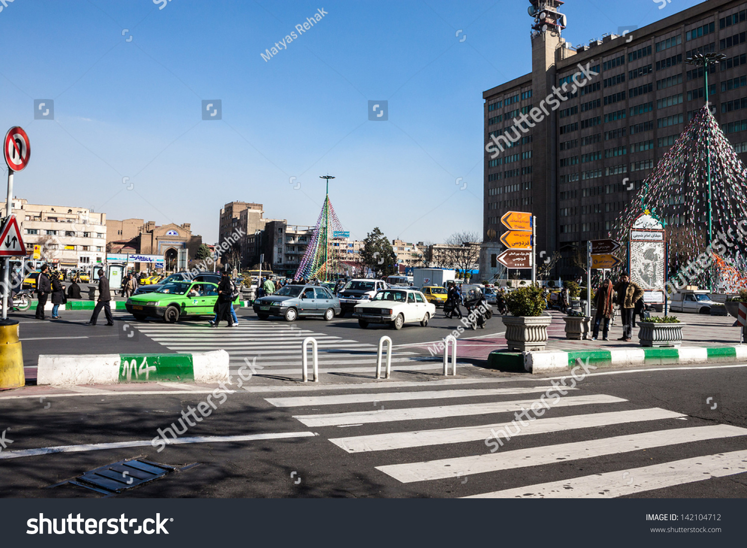 Non Muslim Perspective On The Revolution Of Imam Hussain: February 21: Traffic On Imam Khomeini Square On