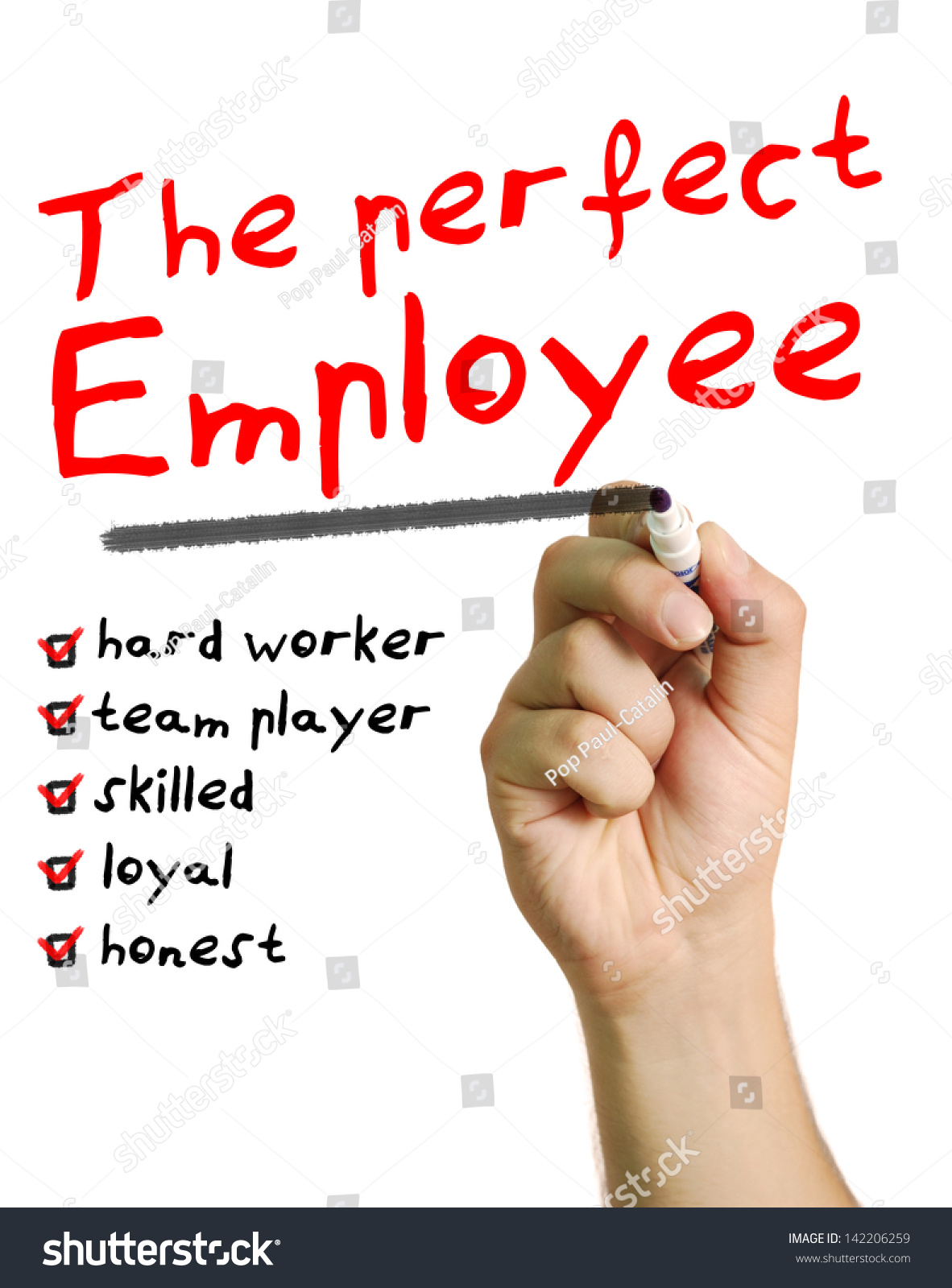 perfect employee stock photo shutterstock the perfect employee