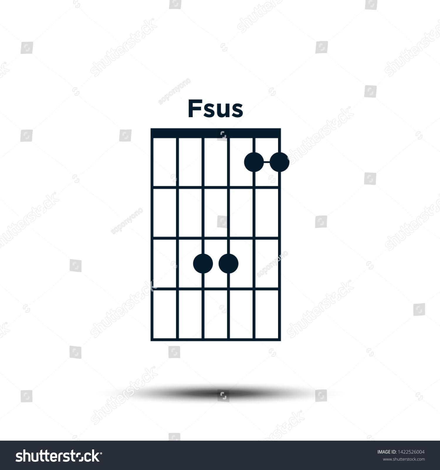 Suchen Sie nach Fsus Basic Guitar Chord Chart Icon Stockbildern ...
