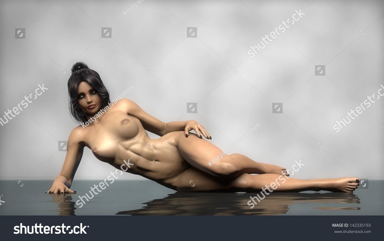 hot female nude athlete