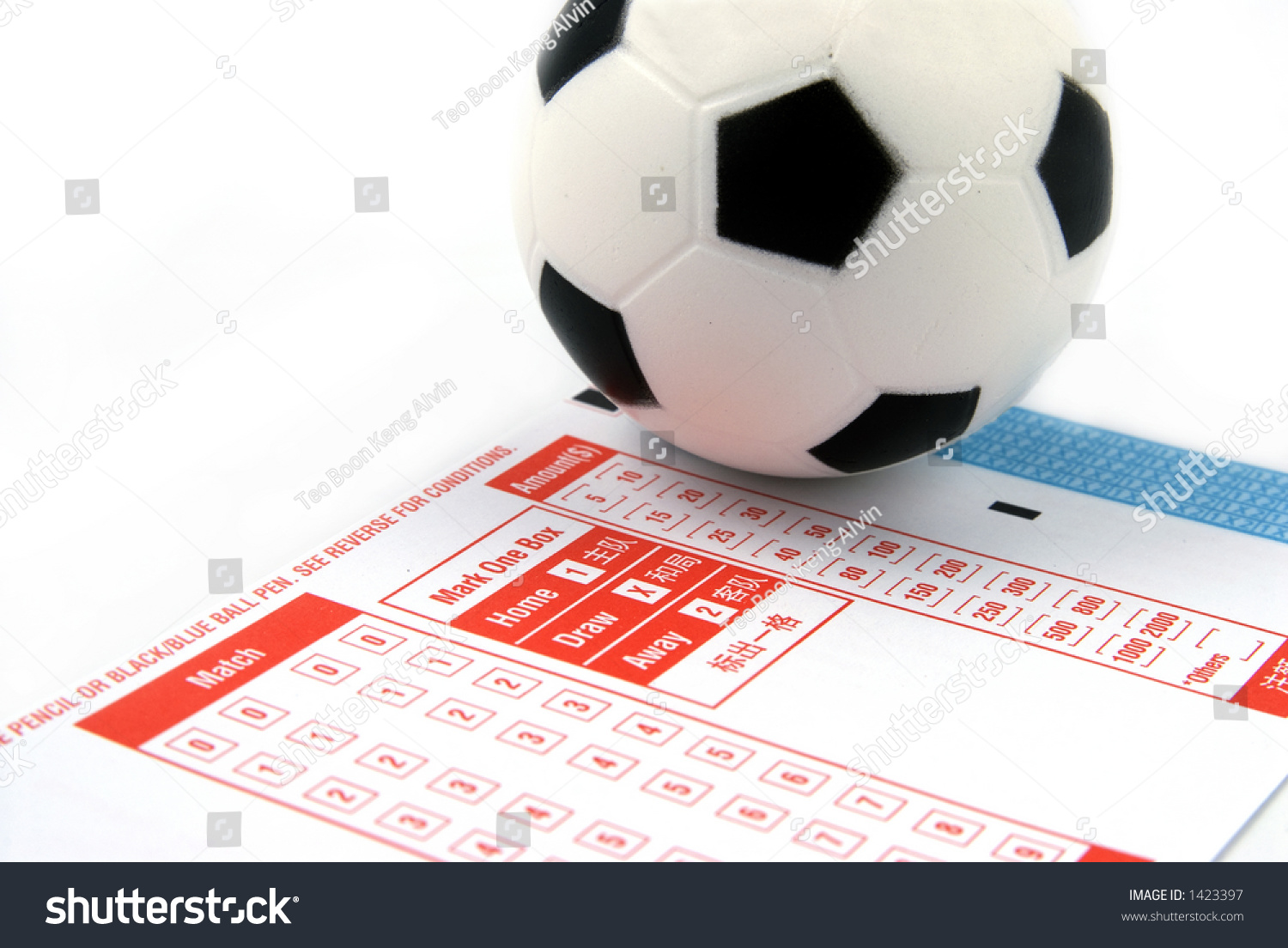 football betting slips