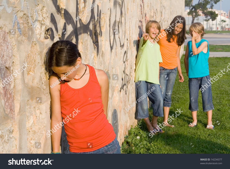 Sad Child, School Bully Stock Photo 14234377 : Shutterstock