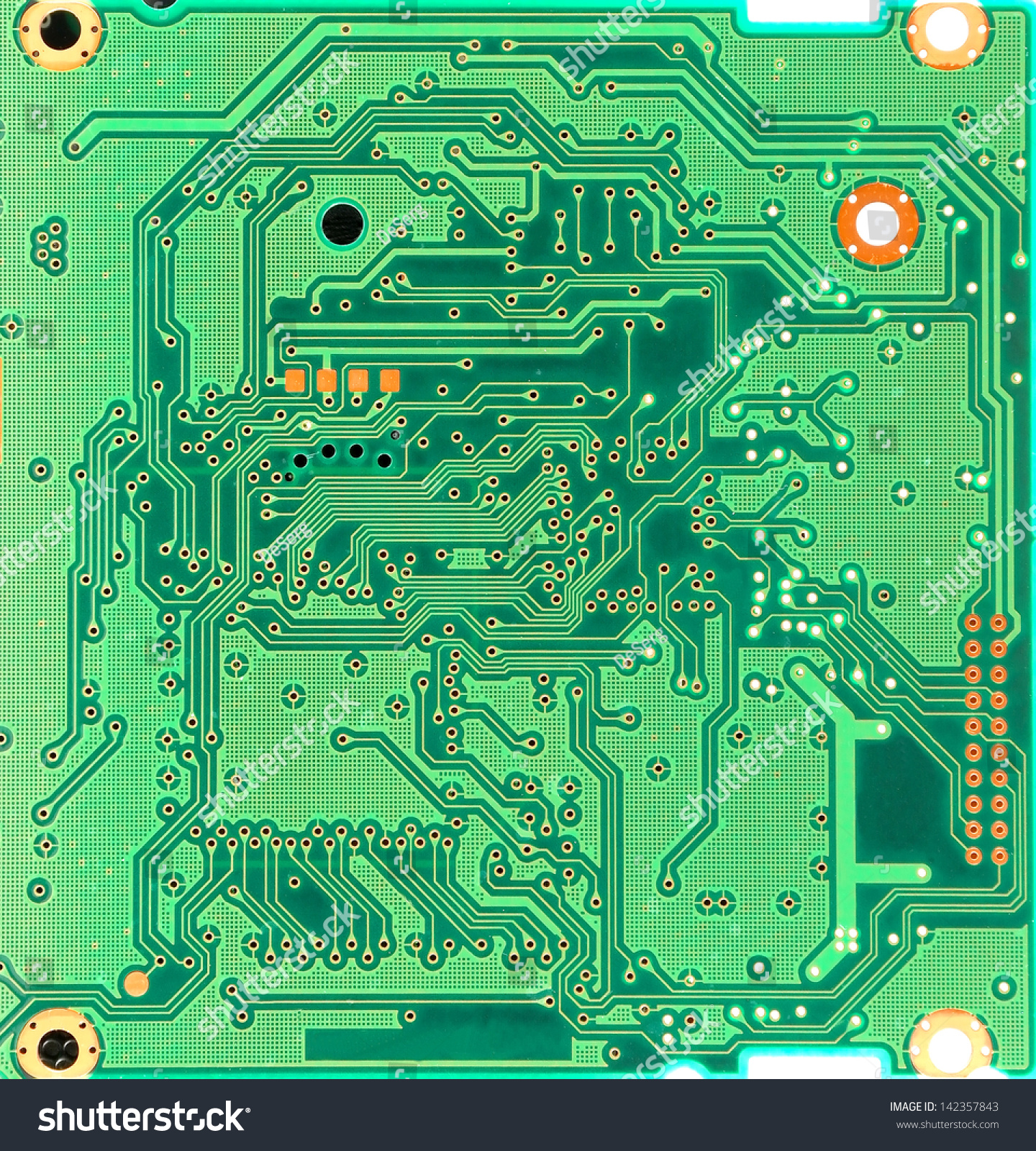 Abstract Background Old Computer Circuit Board Stock Photo Edit Now Picture Of With