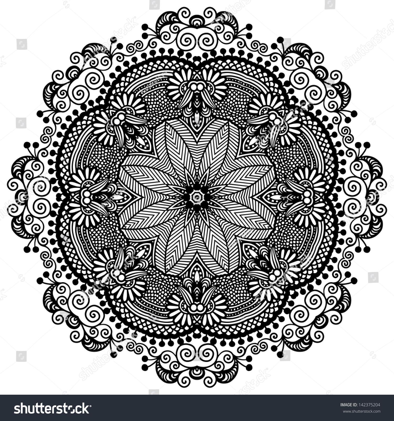 round ornamental g...