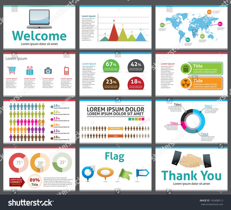 Presentation Template Business Company Slide Show Vector – Business Presentation Template