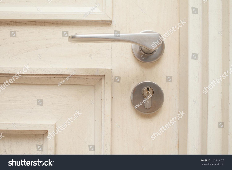 Bedroom door handle Preview  Save to a lightboxBedroom Door Handle Stock Photo 142445476   Shutterstock. Bedroom Door Handles. Home Design Ideas