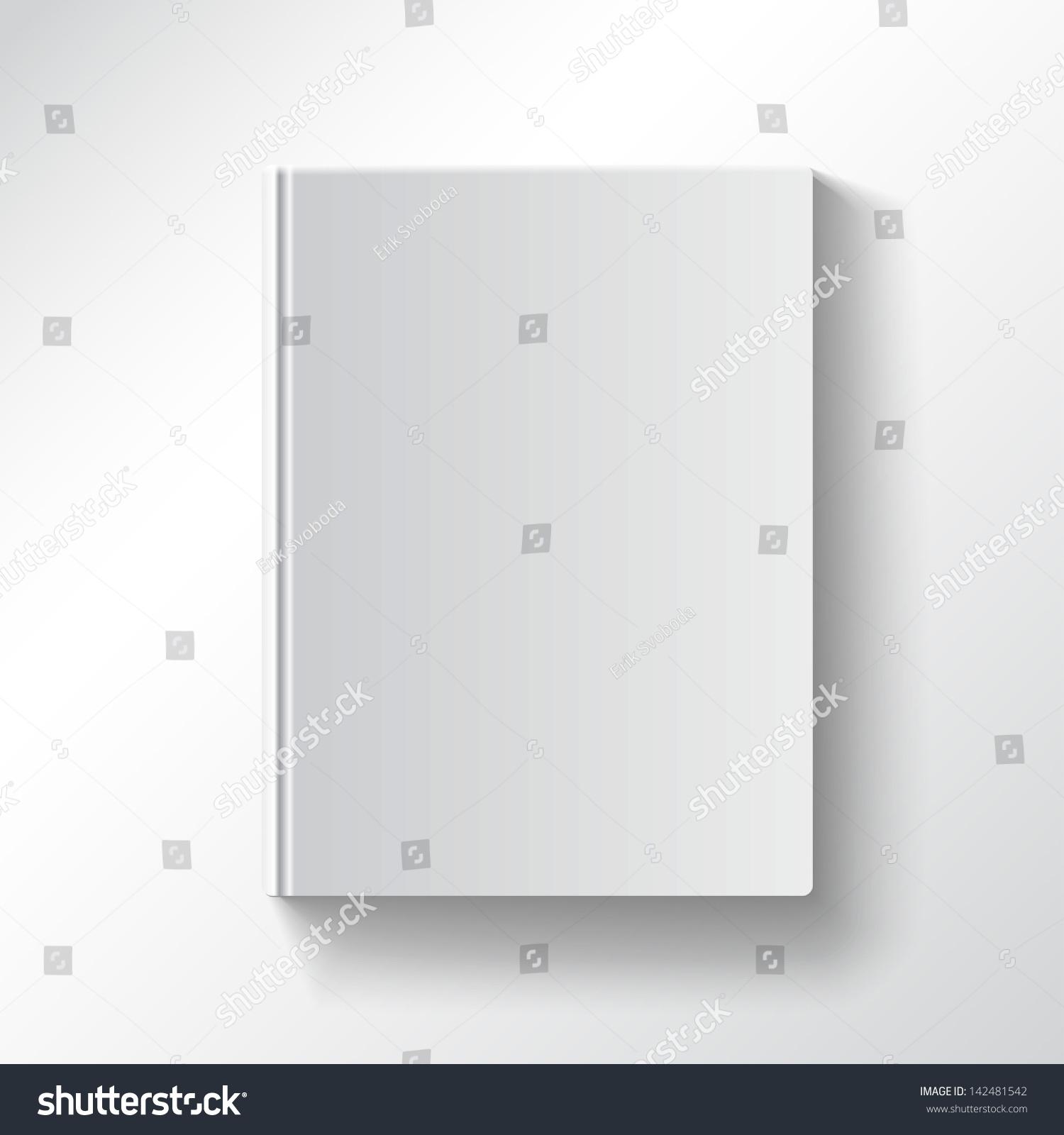 Book Cover Design Blank : Blank book cover vector illustration gradient vectores en
