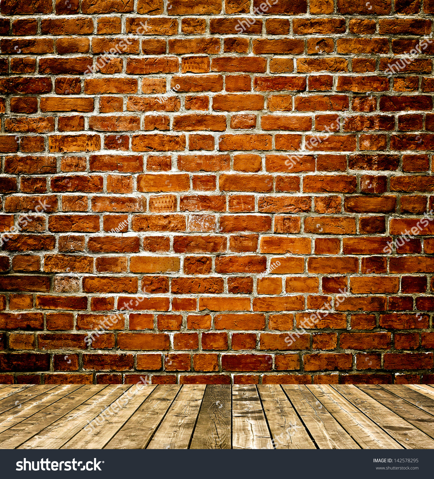 Red Brick Stone : Grungy textured red brick stone wall stock photo