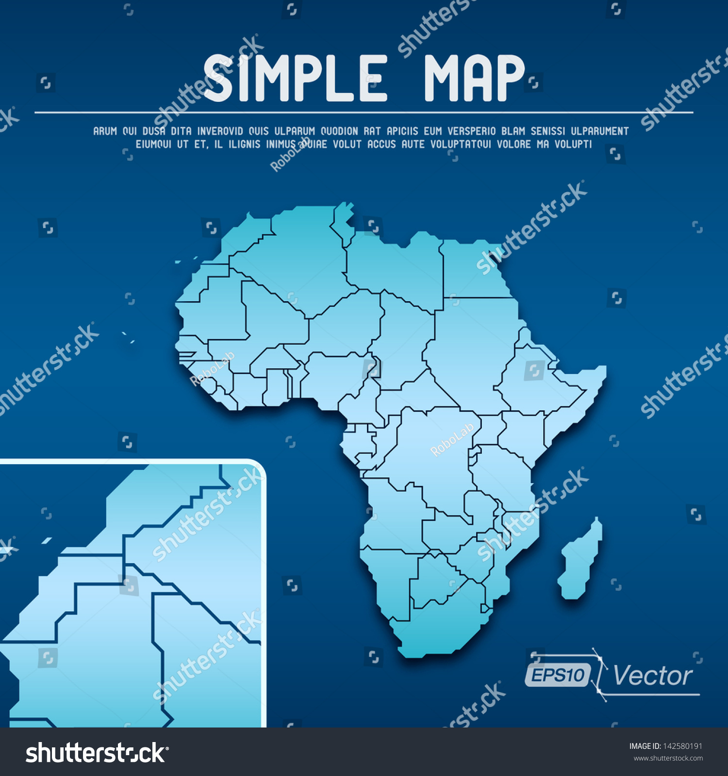 Abstract simple map eps10 vector design stock vector 142580191 abstract simple map eps10 vector design gumiabroncs Image collections