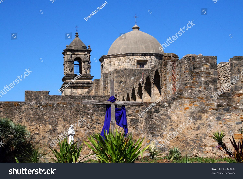 a pano of mission san jos  in san antonio texas stock photo 14262856   shutterstock