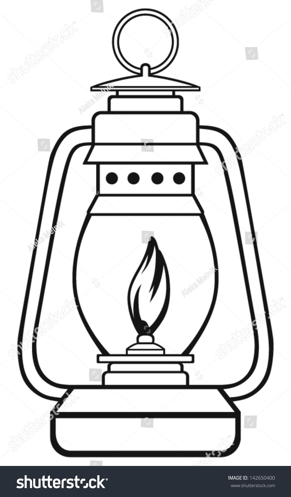 Symbol Old Dusty Oil Lamp Stock Vector 142650400 - Shutterstock for Oil Lamp Clip Art  153tgx