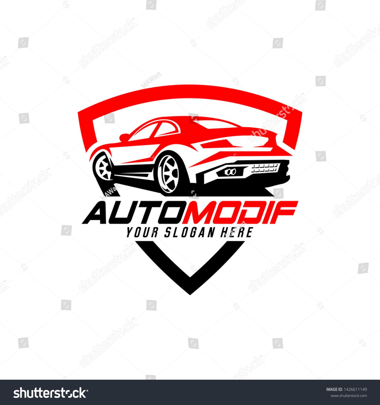 Automotive Logo Vector Car Detailing Garage Stock Vector Royalty Free 1426611149
